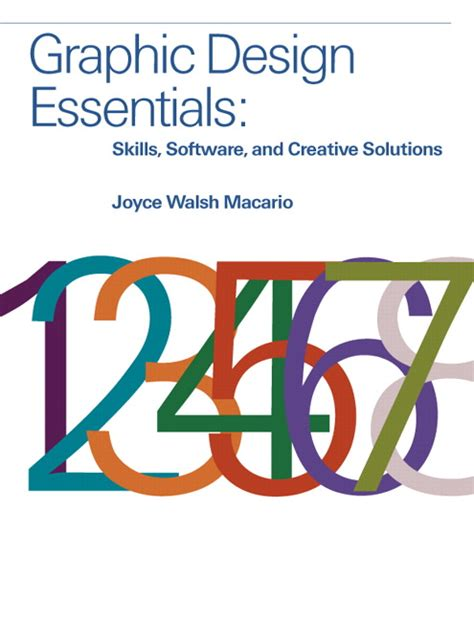 macario graphic design essentials skills software and creative solutions pearson