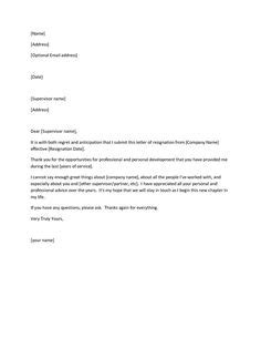A Good Exit Strategy Honoring Notice Period And Facilitating Smooth Handover Of Responsibilities Sle Resignation Letter Template