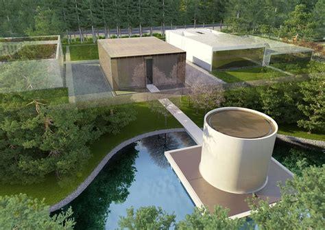 Zen Water Garden Gallery Of Famen Temple Zen Meditation Center Winning