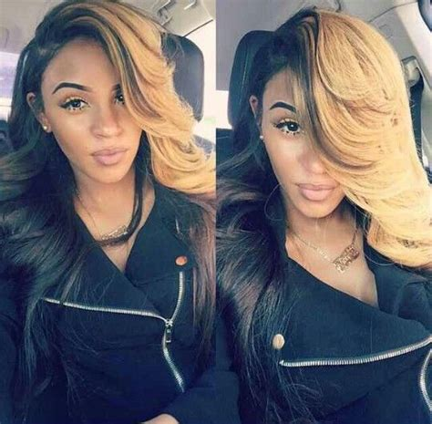 Half Sew In Weave Hairstyles by Best 25 Half Dyed Hair Ideas On Curly Hair
