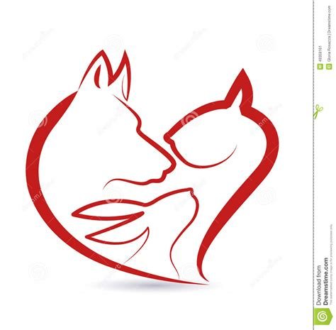 kota kr 243 lika i psa gł 243 w kierowy kształt ilustracja wektor