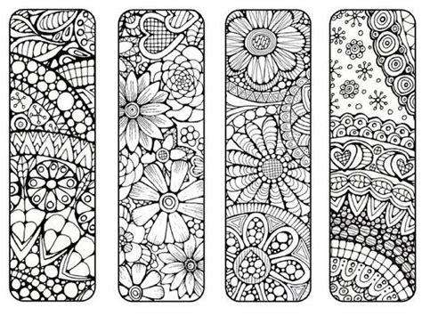 bookmarks to color bookmarks to print and color bookmark coloring page