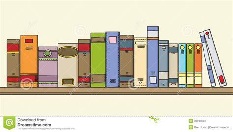books on shelf stock images image 36948584