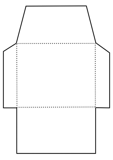 envelope wrapper pattern envelope template 4 templates pinterest envelopes