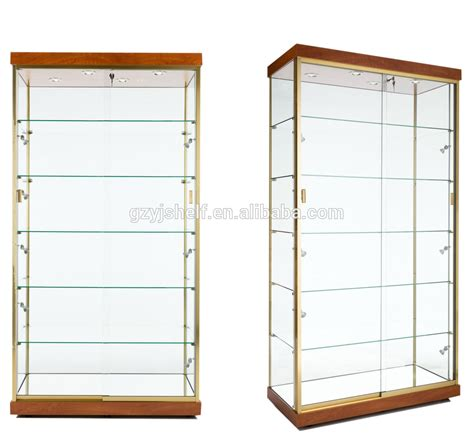 Storage Cabinet With Glass Doors Glass Storage Cabinet Best Storage Design 2017