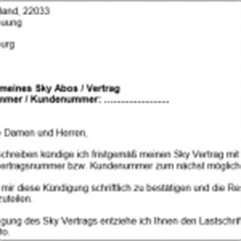 Vorlage Sky Abo Kündigen Kreditkarte K 252 Ndigen K 252 Ndigungsschreiben Vorlage Word