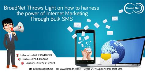 marketing through broadnet throws light on how to harness the power of