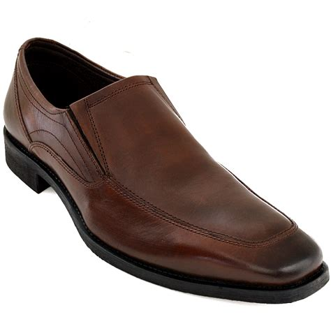 dressy sneakers mens s dress shoes leather slip on dressy casual comfort