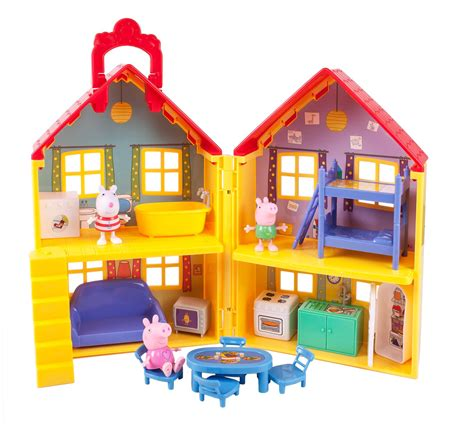 Barbie Kitchen Furniture by Amazon Com Peppa Pig S Deluxe House Toys Amp Games