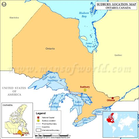 Toronto Address Finder Where Is Sudbury Located In Canada Map