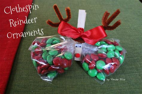 third grade christmas crafts diy reindeer clothespin reindeer ornaments yonder