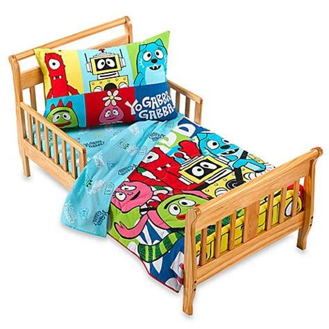 Yo Gabba Gabba Bedding by Yo Gabba Gabba Toddler Bed Set Buybuy Baby