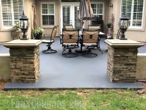 Faux stone fence columns submited images
