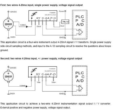 20 2 l wire plc 4 20ma wiring wiring diagrams repair wiring scheme
