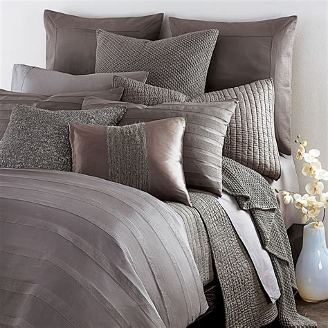 donna karen bedding donna karan quot city stripe quot king duvet cover bloomingdale s