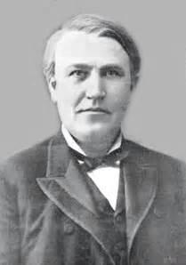 Sewing Machine Light Bulb Accomplishments Made By Thomas Edison
