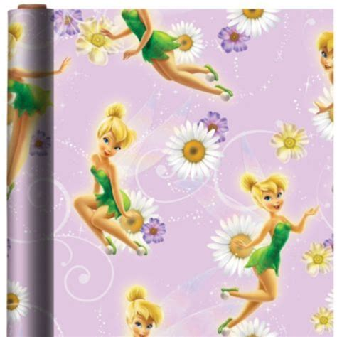 tinkerbell gift wrap tinker bell gift wrap city birthday 2