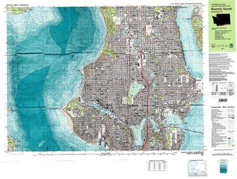seattle map topo seattle topographic map wa usgs topo 47122f3