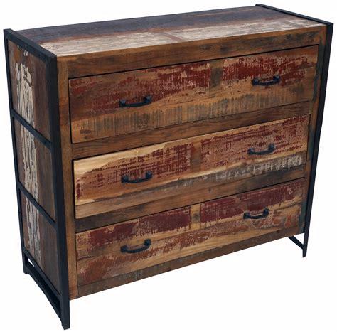 vintage kommode vintage kommode sideboard mit 3 schubladen aus metall und