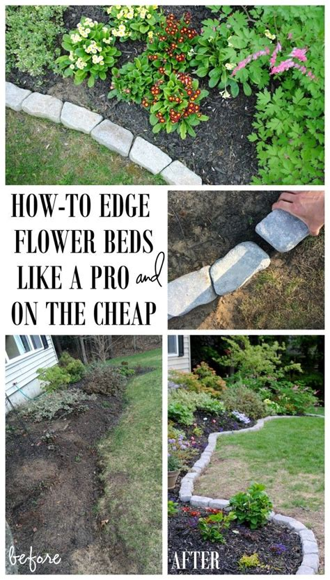 garden flower bed edging best 20 flower bed edging ideas on