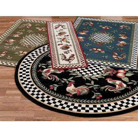rooster kitchen rug kitchen rugs
