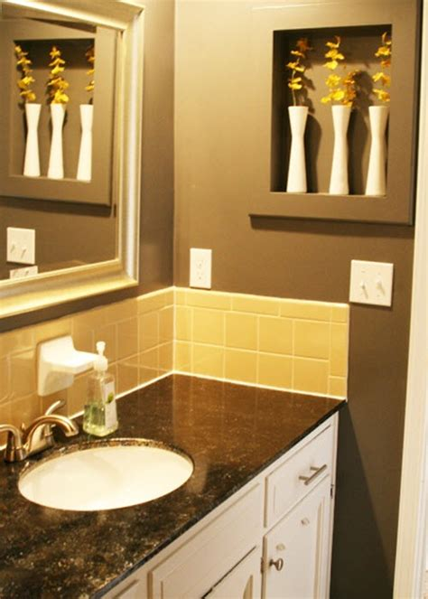 38 yellow bathroom tile ideas and pictures