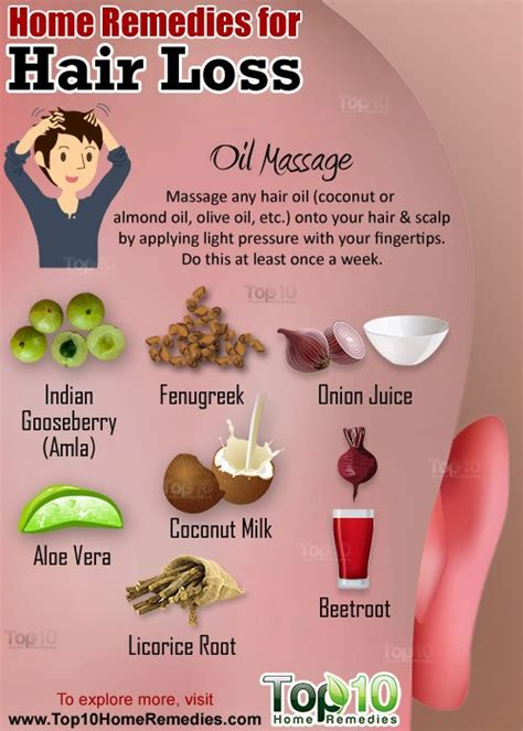 home remedies for hair loss top 10 home remedies
