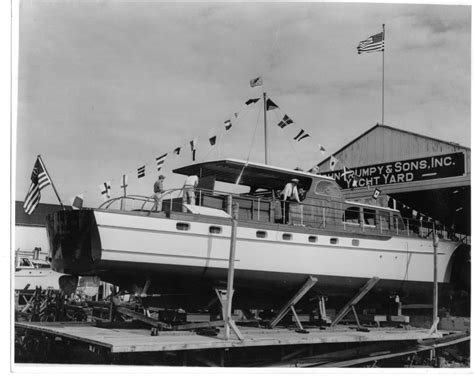 boat building exhibition trumpy yacht building exhibition opens at cbmm august 6