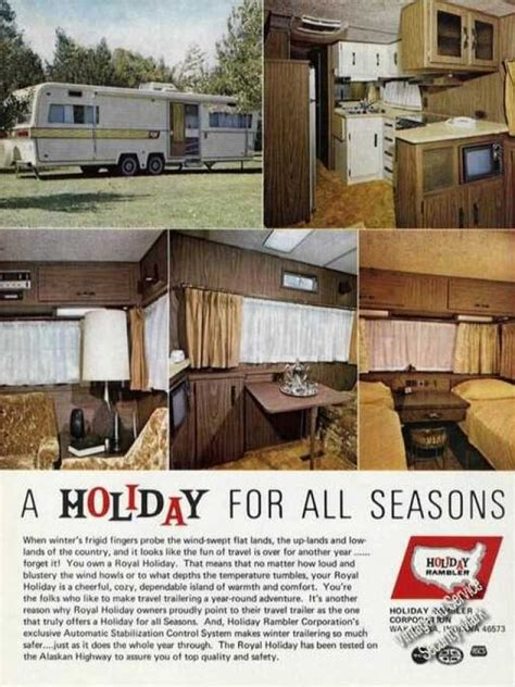 Winnebago Fifth Wheel Floor Plans vintage travel and tourism ads of the 1970s page 22