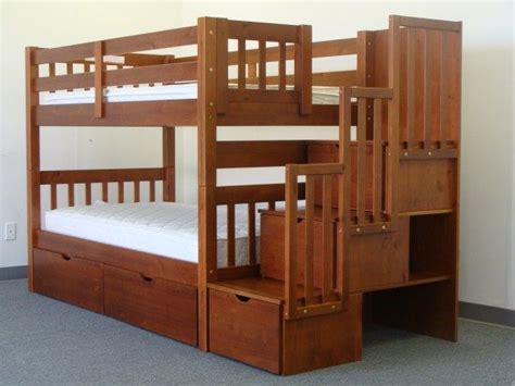 bunk bed railings bunk beds stairway expresso 2
