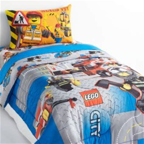 Lego City 4 Pc Reversible Bed Set Twin Zachary S Lego Bedding