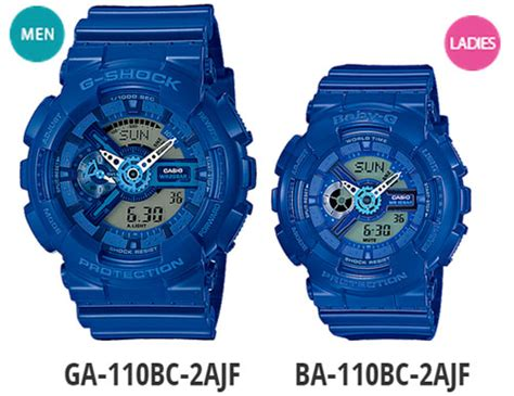 G Shock Black Blue List White blue g shock and baby g your partner will this