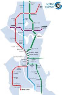 Seattle Metro Map by Proposed Seattle Subway Map Infographics Amp Maps Pinterest