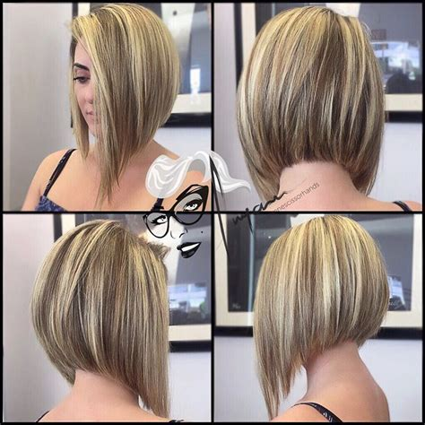 asymetrical ans stacked hairstyles asymmetrical bob haircut edgy short hair pinterest