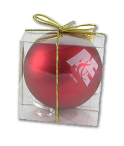 promotional christmas ornaments and custom logo holiday