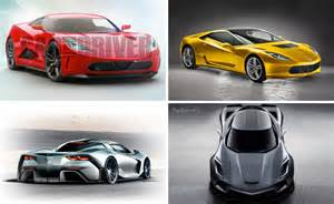 Cars High Chair Poll Which Mid Engine C8 Corvette Rendering Is Your