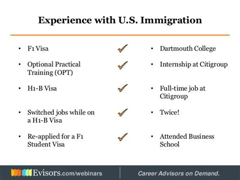 Convert Student Visa To H1 Mba Program by Landing Your In The Usa