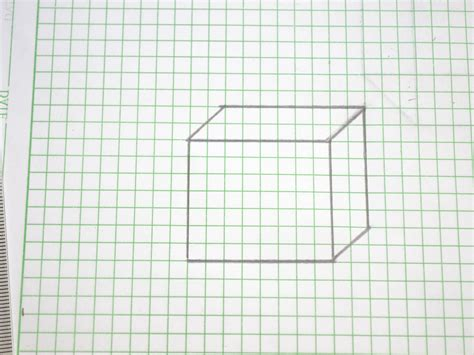 How To Make A Box With Chart Paper - 3d graph paper drawings drawing artistic