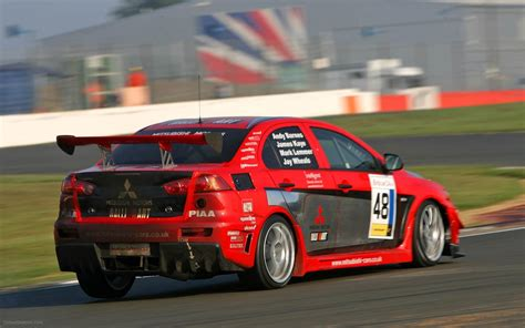 mitsubishi race car mitsubishi evo x race car debut widescreen exotic car