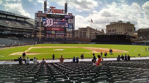 comerica park section 333 comerica park section 123 detroit tigers rateyourseats com