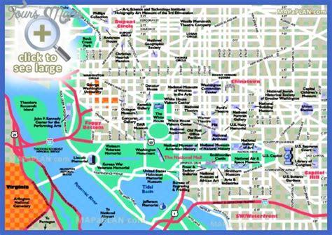washington dc map tourist washington map tourist attractions toursmaps