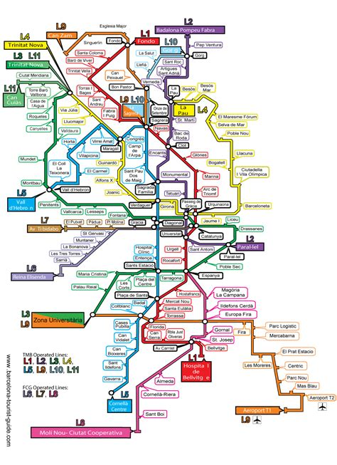 printable maps barcelona printable barcelona metro map