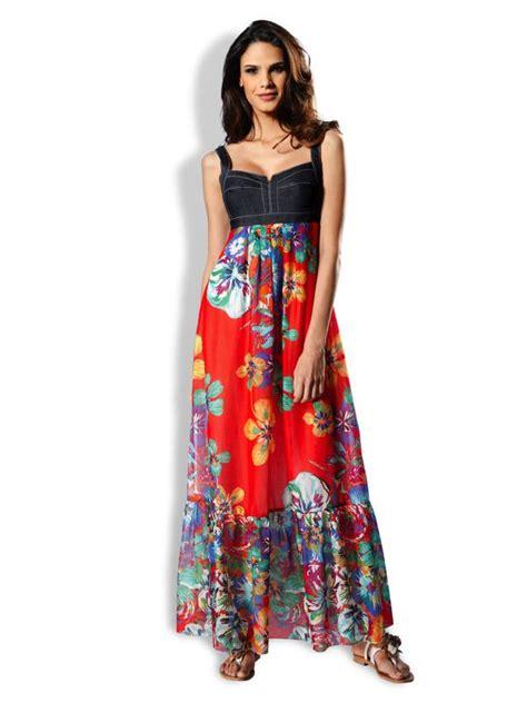 Robe Longue Fille Ete - robe 224 la mode robe longue d ete bustier