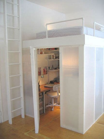 Bunk Bed With Office 114 Best Images About Loft Bed Ideas On