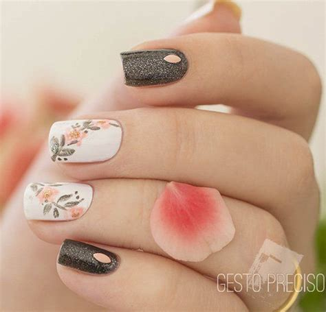 ideas  glitter nail art  pinterest nail