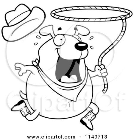 chubby puppies coloring pages cartoon clipart of a black and white chubby rodeo dog