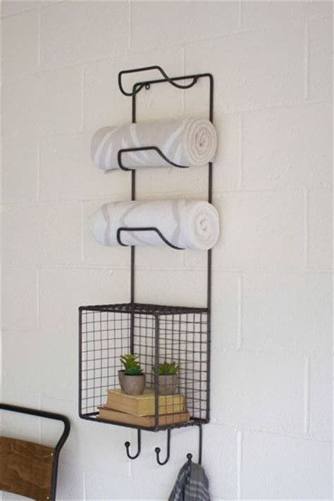 Wire Towel Racks by Towel Racks Towels And Basket Shelves On