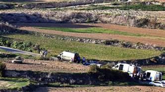 jobs for environmental journalists in tsar bomb daphne caruana galizia panama papers journalist killed in car bomb blast itv news