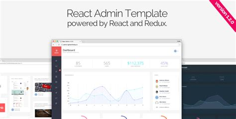 react templates react admin by reactapps themeforest