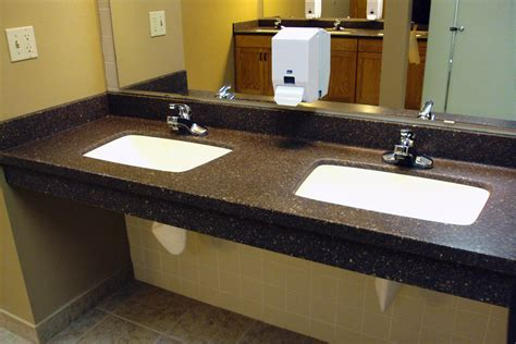 commercial countertops commercial bathrooms